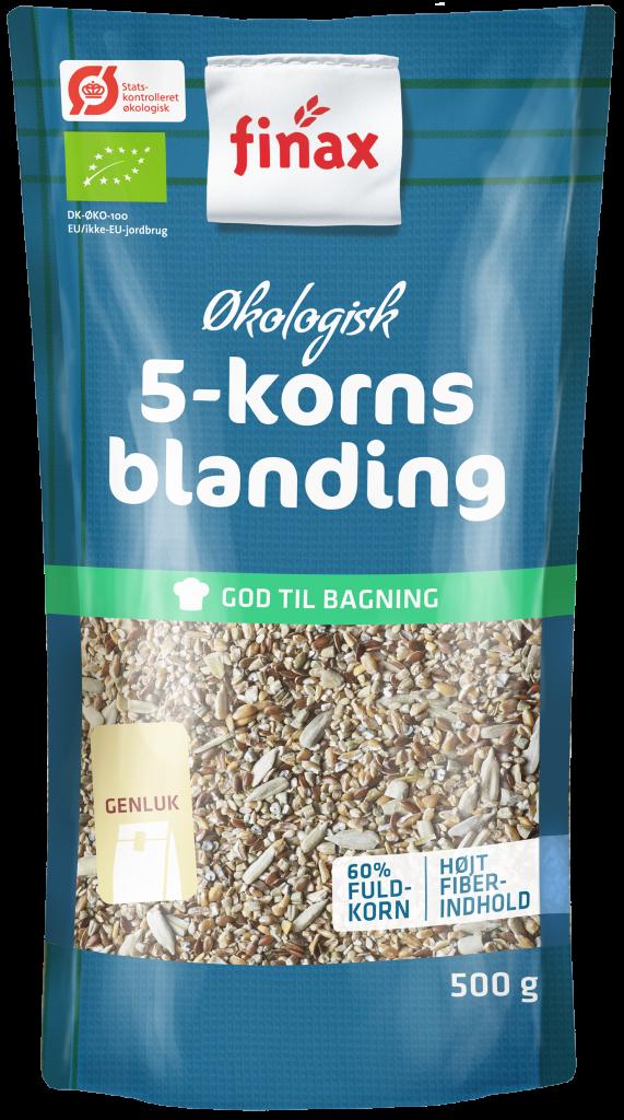 Økologiske 5-kornsblanding