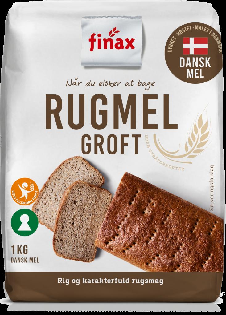 Dansk Rugmel – Groft