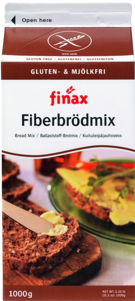 Glutenfri Fiberbrødmix (lactosefri)