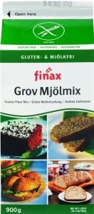 Finax glutenfri grov melmix