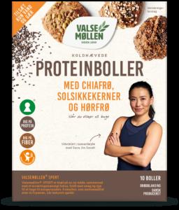koldhævede proteinboller brødblanding
