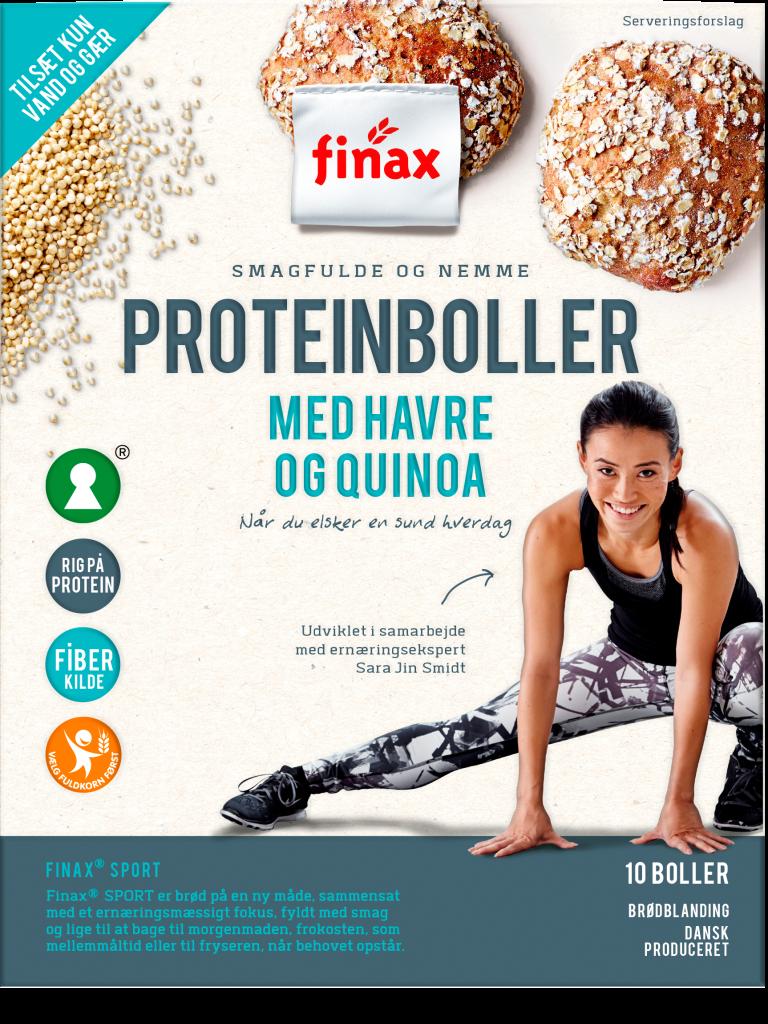 Proteinboller med havre & quinoa