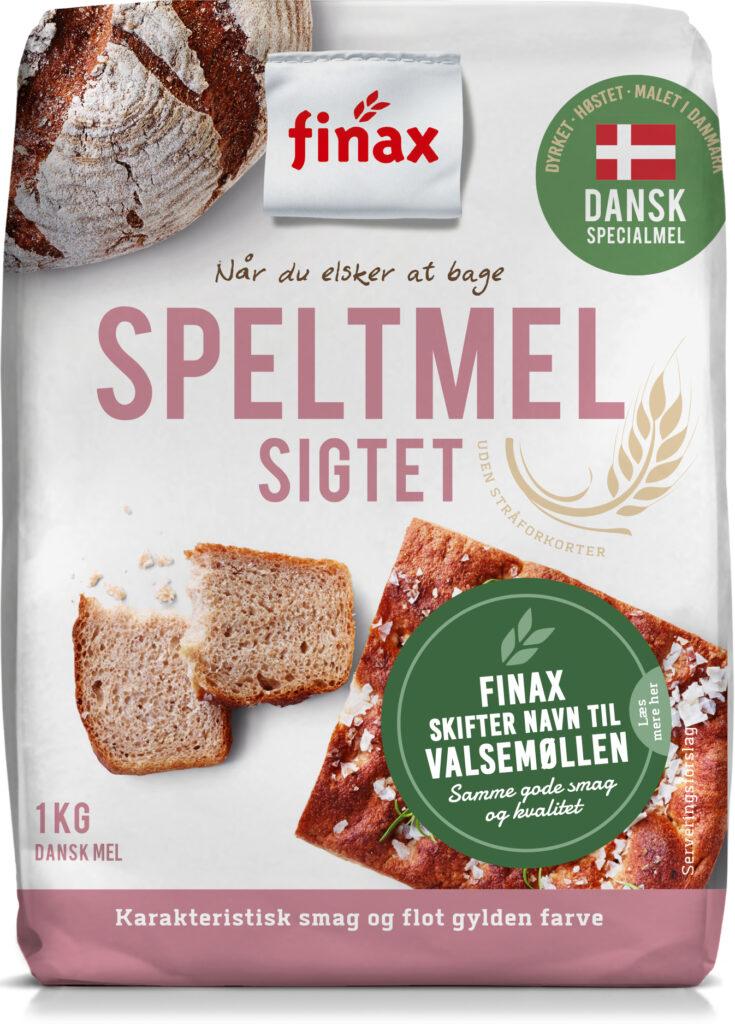 Dansk Speltmel – Sigtet