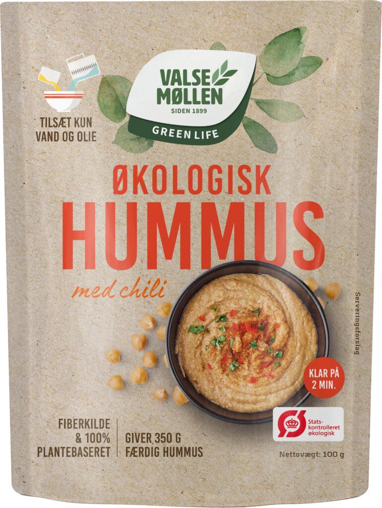 Økologisk Hummus, Chili