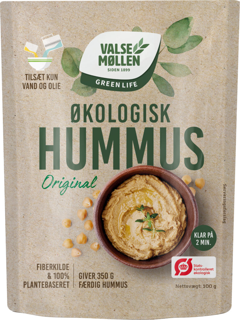 Økologisk Hummus, Original