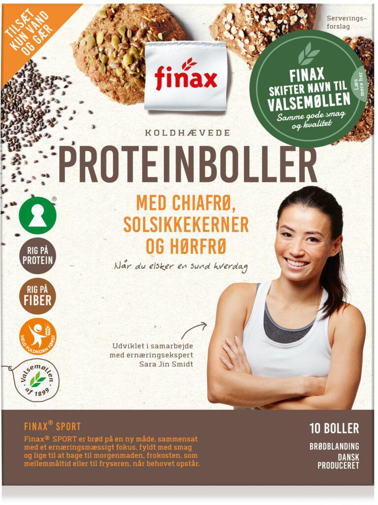 Proteinboller med chiafrø, solsikkekerner og hørfrø