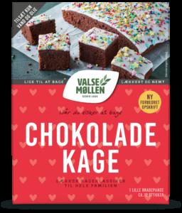 chokoladekage bageblanding
