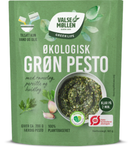 økologisk grøn pesto