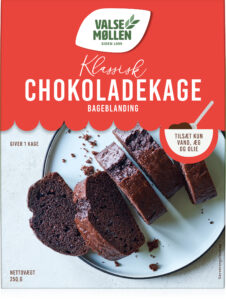 klassisk chokoladekage bageblanding