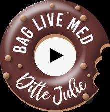 Mini donuts, bagte