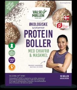økologiske koldhævede proteinboller